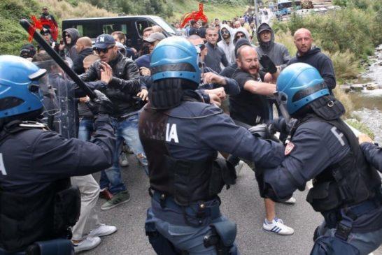5-9-2015 Polizia e carabinieri a S. Colombano
