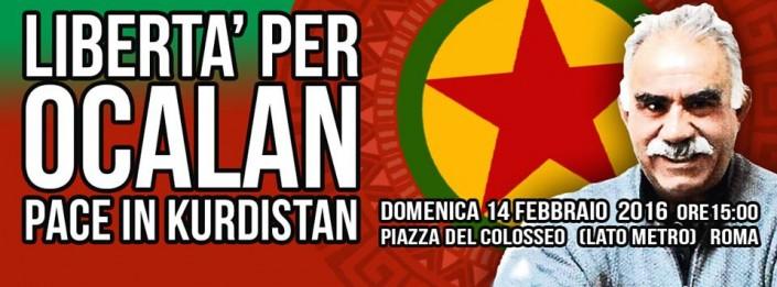 Libertà per Öcalan, pace in Kurdistan!