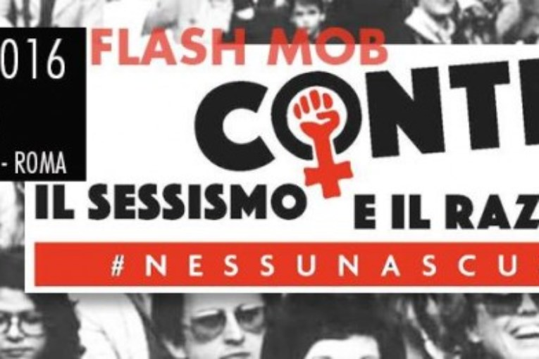 «Non siamo le vostre donne!». Flash mob antissessista a Roma