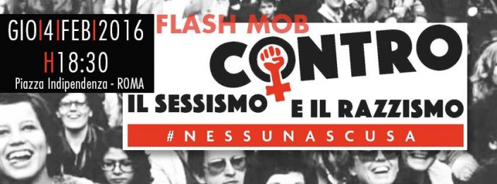 «Non siamo le vostre donne!». Flash mob antissessista a Roma