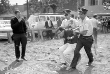 Usa, arrestato a Chicago Bernie Sanders [nel '63, ecco le foto]