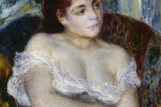04 - Pierre-Auguste Renoir - Donna in poltrona