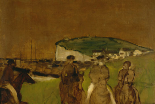 11 - Edgar Degas - Cavalcata al mattino