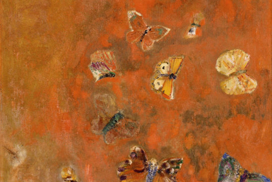 18 - Odilion Redon - Evocazione di farfalle