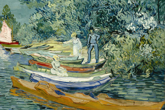 23 -Vincent WIllem van Gogh - Sponda dell'Oise ad Auvers