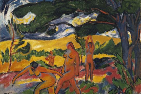 36 - Max Pechstein - Sotto gli alberi