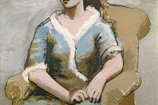 48 - Pablo Picasso - Donna in poltrona