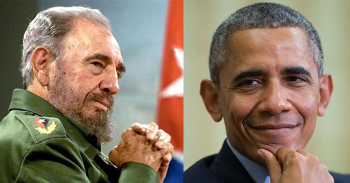 Fidel-Castro-vs-Barack-Obama