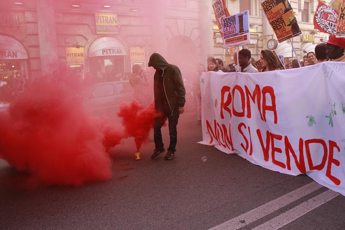 Roma, una città che non si Tronca [photogallery]