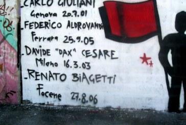 25 aprile, le lettere dei condannati a morte, la voce di Carlo Giuliani