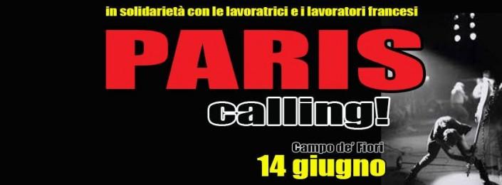 Paris calling!! Parigi potrebbe essere anche qui