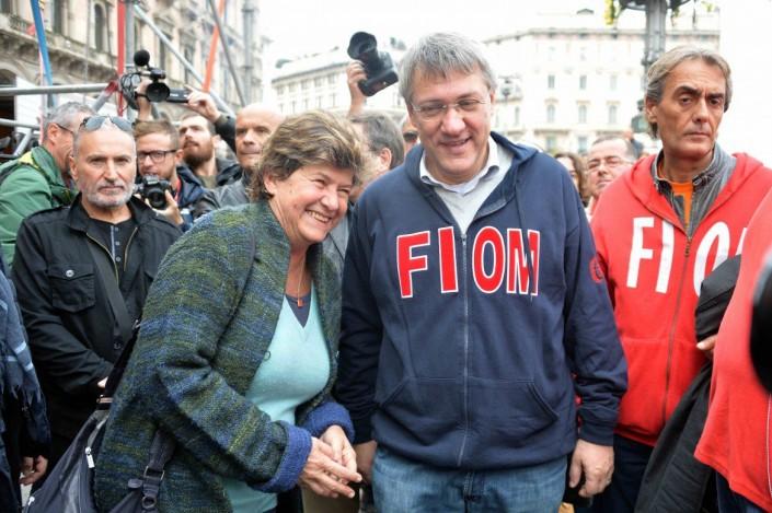 Perché Landini non è credibile quando dice viva la Francia