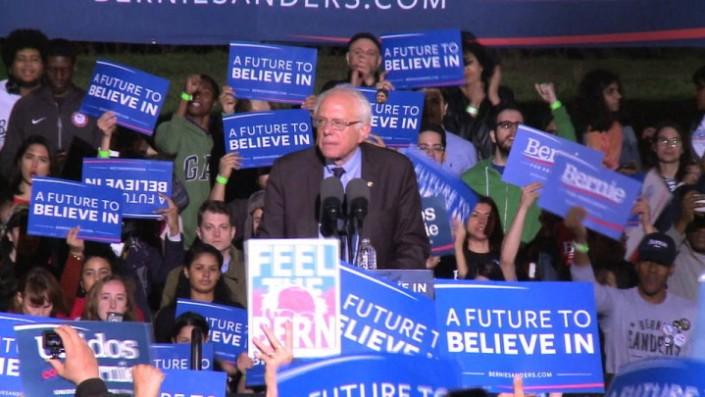 Sanders dopo la nomination: «la lotta continua»