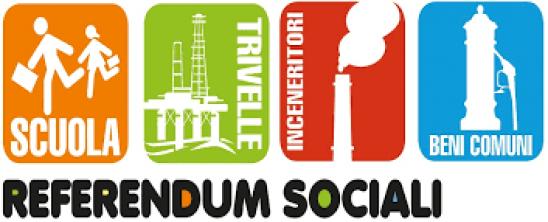 Referendum sociali, dai firma!!