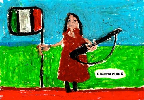 """Ragazzi, la vostra prof, prima di essere insegnante, è antifascista""."