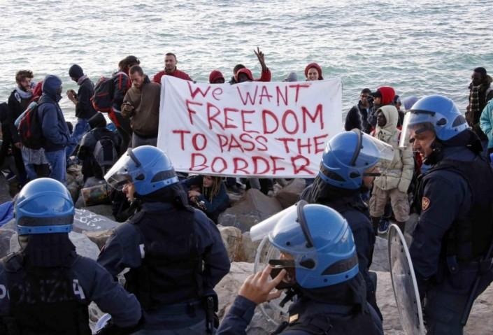 """Migranti, dal Baobab a Ventimiglia, l'appello: """"no alle Idomeni d'Italia"""""""