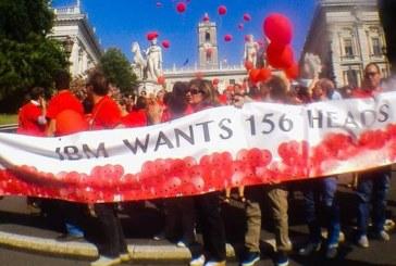 Roma, una lotta per fermare i piani di IBM