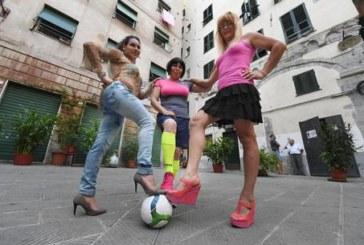 Iron Ladies in campo. Arriva la nazionale di calcio trans