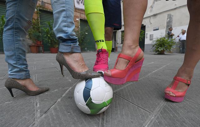 Nasce a Genova la nazionale trans di calcio