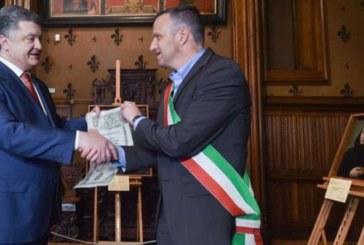 Poroshenko è cittadino onorario di Verona. Nulla da dire presidente?
