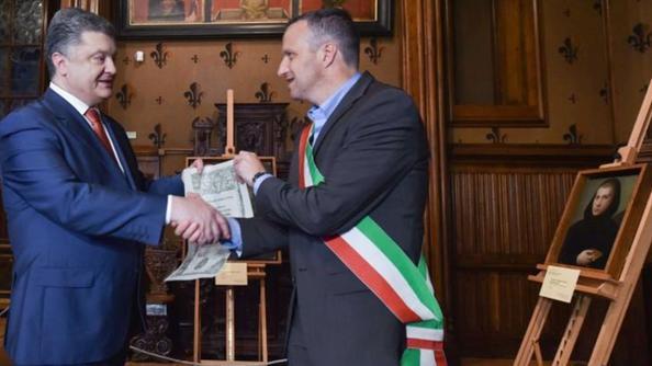 Tosi, Poroshenko e i quadri rubati