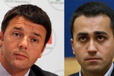 Sondaggio: Di Maio sorpassa Renzi