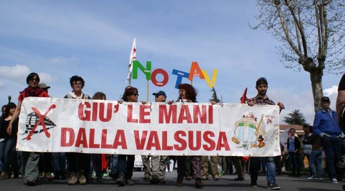 Nicoletta No Tav in marcia per la libertà