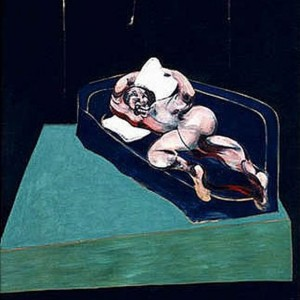 Francis bacon - Figure in a room
