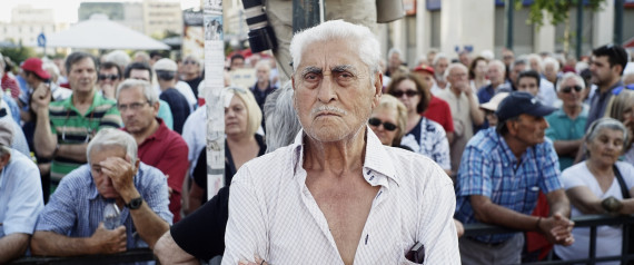 Pensioners Union Organise Anti-Austerity Protest