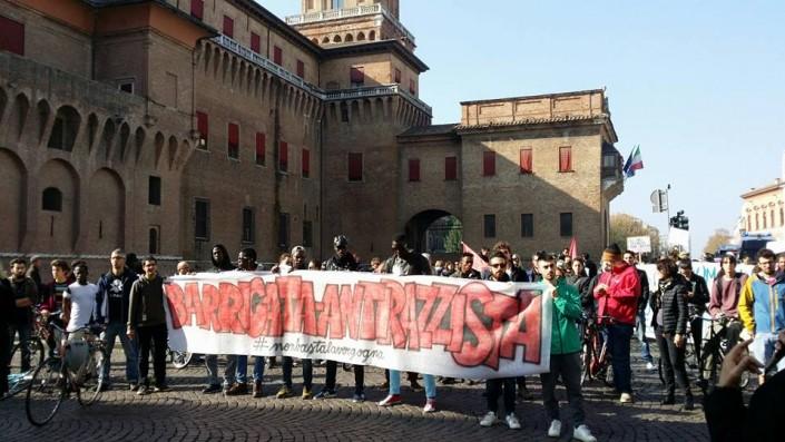 Contro l'odio razziale, risponde la Ferrara solidale