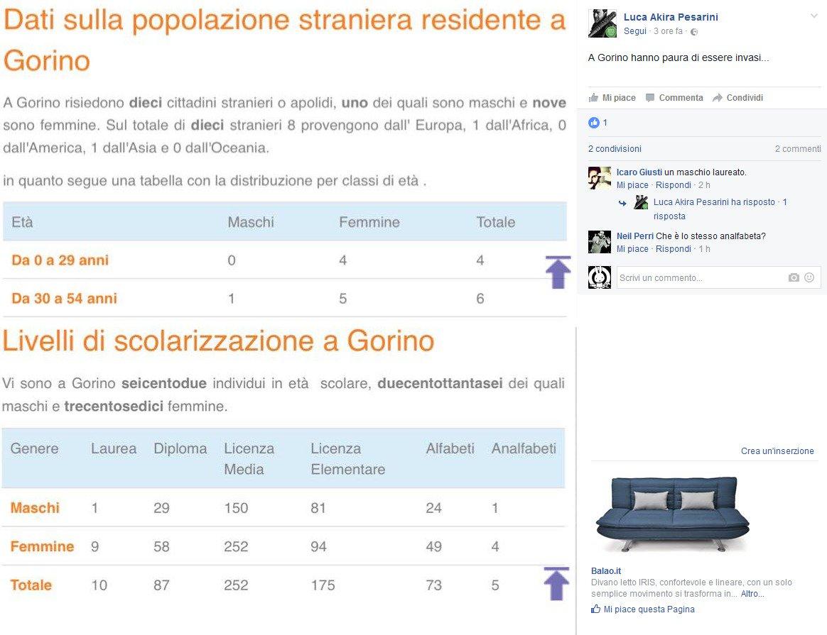 """ecco i numeri dell'""""invasione"""" straniera a Gorino"""