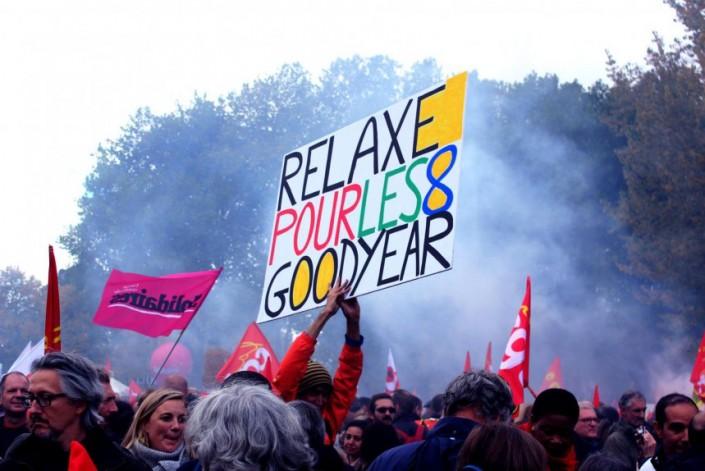 Francia, dalla parte degli operai Good Year incarcerati