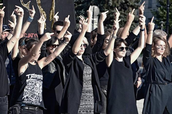 Aborto, sciopero generale in Polonia