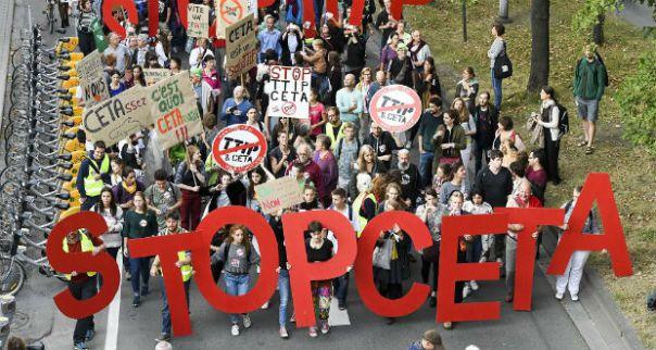 Ceta, ecco perché l'accordo non funziona. 5 novembre in piazza