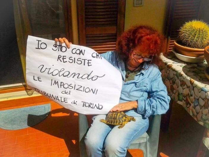 Nicoletta Dosio: la lotta non può finire, l'evasione deve continuare