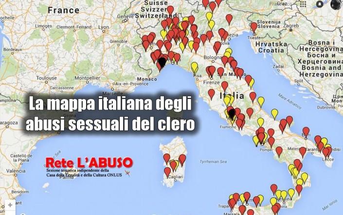 Pedofilia, la mappa degli abusi del clero e dei rifugi