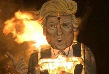 E' il più cattivo dell'anno: bruciato Trump [video]