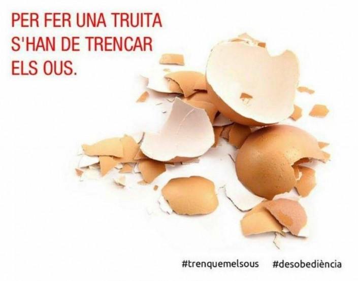 «Bisogna rompere le uova»: arrestato indipendentistacatalano