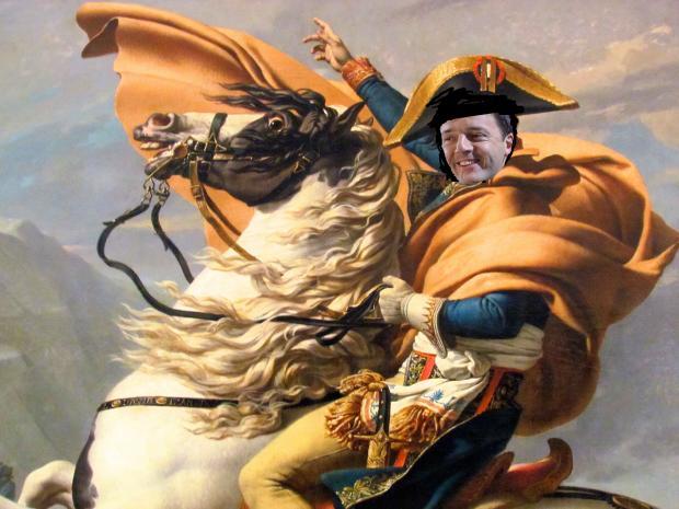Il prossimo Bonaparte non sarà Renzi