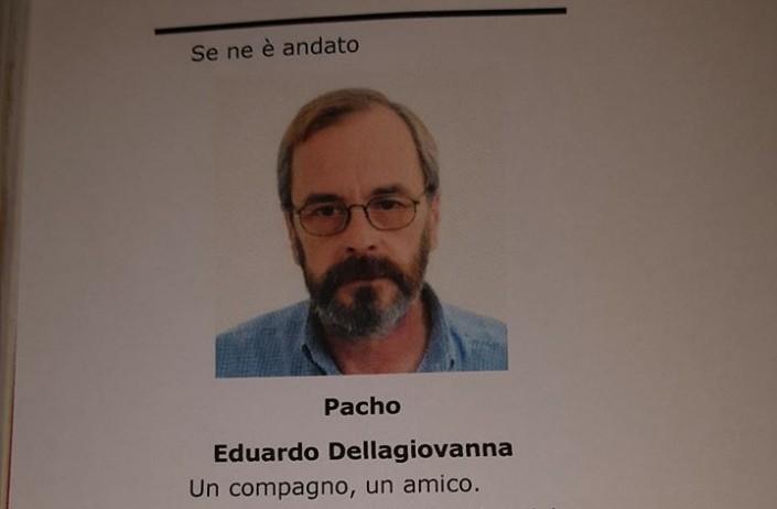 Pacho s'è ucciso: «Non mi hanno vinto i militari argentini, ma ora non ne posso più»