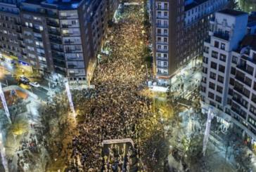 Bilbao, 80mila in marcia per i diritti umani dei detenuti