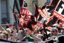 """Genova, """"fuori i fascisti dalla nostra città"""""""