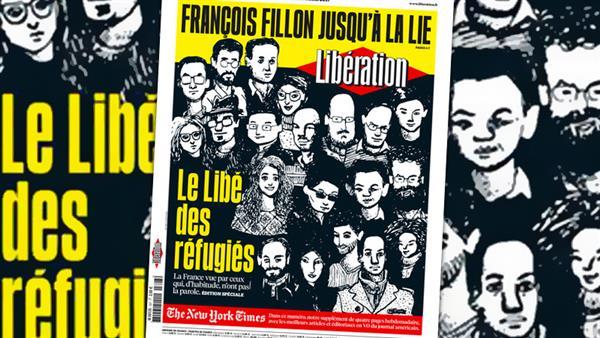 Francia, esce l'edizione di Libération scritta da 21 rifugiati