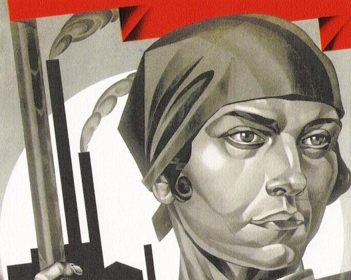 Emancipated-Women-Build-Up-Socialism-A.-Strakhov-Bratislavskij-1926-