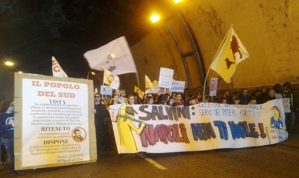 Matteo Salvini domani sarà a Napoli. Minniti: