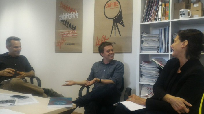 Il giornalista del Guardian, Owen Jones, ospite della redazione di Left