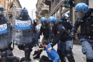 Cara Cgil, perché lasci che la polizia spezzi un corteo?