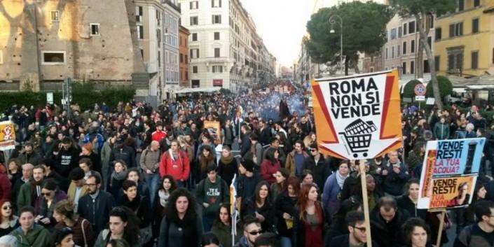 Roma non si vende e Amatriciana No Tav. Un sabato di piazze
