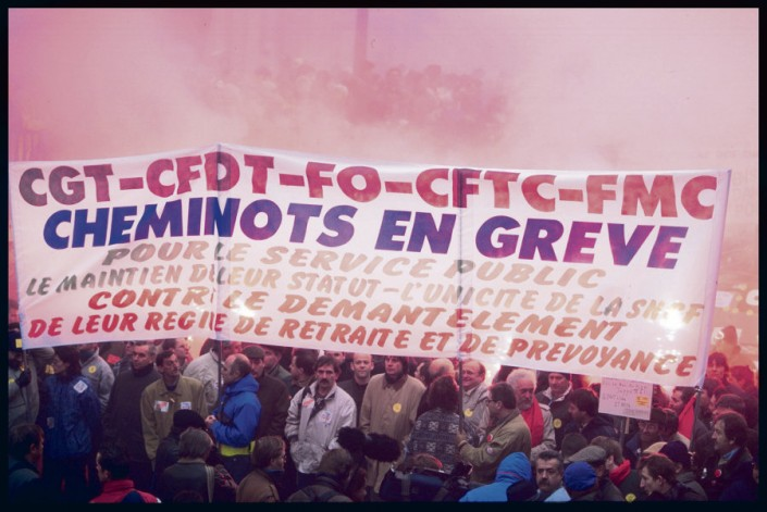 gli scioperi in Francia nel 1995