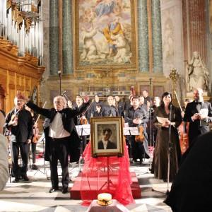 Il concerto per Calabresi
